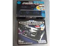 RETRO Sega Mega Drive & Sega Mega CD Consoles in Original Boxes - £225