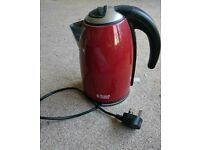 Russell Hobbs red kettle