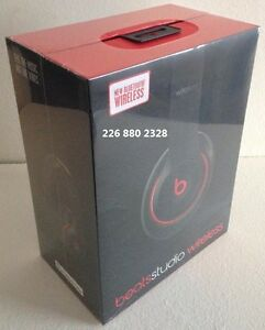 Dr Dre STUDIOS 2.0 WIRELESS BLUETOOTH BEATS ~ BLACK & WHITE ~ ♫
