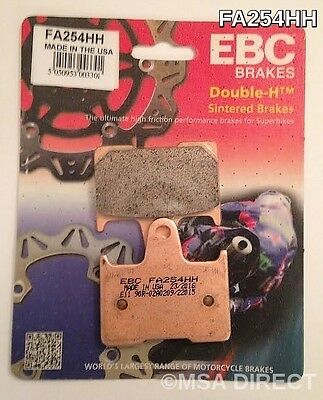 Harley Davidson XL883 (2014 to 2017) EBC Sintered REAR Brake Pads (FA254HH)