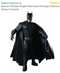 Batman cowl/mask and utility belt- Men's large
