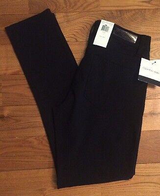 NWT Women's Black CALVIN KLEIN Jeans Power Stretch Pants Size 10