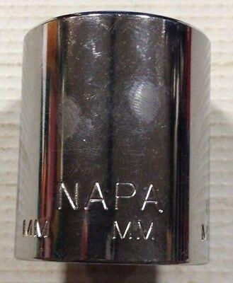 Napa 1 2  Drive 12 Point Metric Shallow Socket Various Sizes