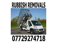 Rubbish Removals 07729274718
