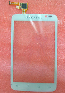Touch-Screen-Digitizer-LCD-Repair-For-Alcatel-One-Touch-OT-991-OT991-991D-White