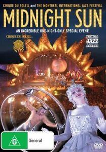 Cirque Du Soleil & Montreal Jazz Festival : Presents: Midnight Sun (DVD, 2005)