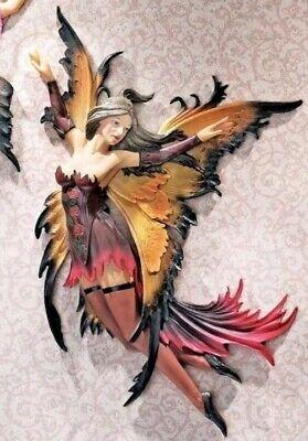 Design Toscano Fairies of the Enchanted Grove Wall Sculpture - Willow Willow Wall Sculpture