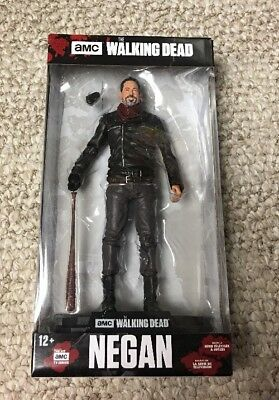 Amc The Walking Dead Negan  23 With Lucille Color Tops  7  Figure Mcfarlane Toys