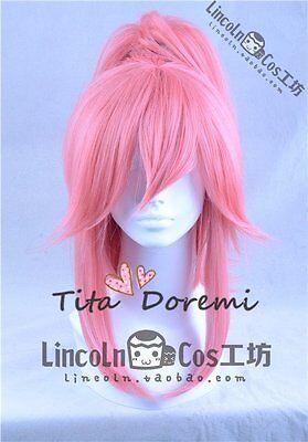 Halloween Perücke Cosplay FGO Fate/Grand Order cat pink clip style fashion Haar