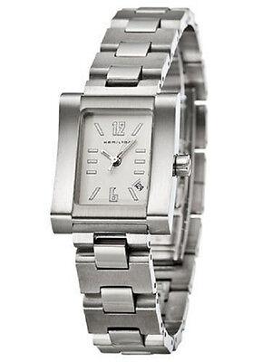 Hamilton H17211125 Gramercy Silver Tone Women's Watch - GREAT GIFT