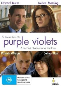 Purple-Violets-DVD-2009-All-Regions-Drama-DVD-Rated-M-Used-VGC-Edward-Burns