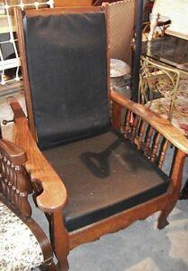 Chaise Bureau Secrétaire Fauteuil Chêne Divan Victorien Antique
