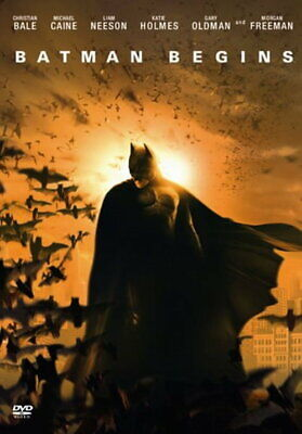 Batman Begins [New DVD]