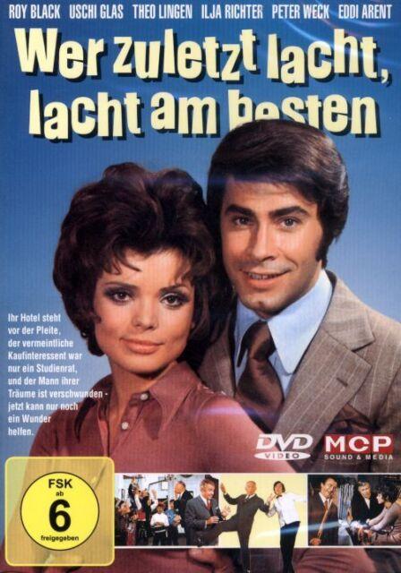 DVD NEU/OVP - Wer zuletzt lacht, lacht am besten - Roy Black & Uschi Glas