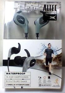 Altec Lansing sports in-ear earbuds, bluetooth, waterproof, New
