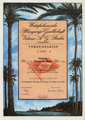 Westafrikanische Pflanzung Victoria 1989 Berlin Hochspeyer Butzbach Kamerun VZ