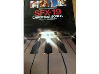 SFX-19: Christmas Songs Book