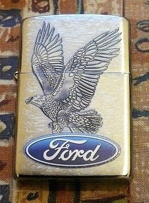AUTOMOTIVE FORD EAGLE ZIPPO LIGHTER FREE P&P FREE FLINTS