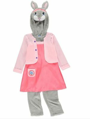 NEW Baby Girls Peter Rabbit Lily Bobtail Fancy Dress Costume Age 18 - 24 Months