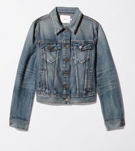 Aritzia Jean Jacket xxs *NEW with tags