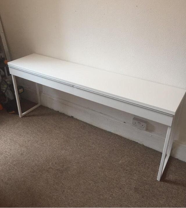 Side table desk
