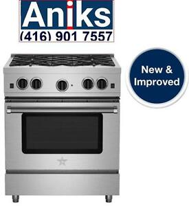 "BlueStar RCS304SBV2 30"" RCS Series Professional Sealed Burner Gas Range 21,000 BTUs call (416) 755 1677 visit www.aniksa"