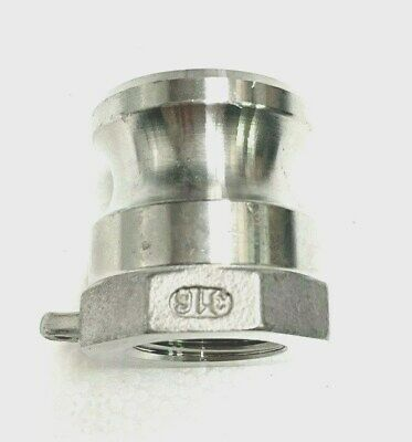 Stainless Steel Cam Lock Adapter 12male Cam Lock To Female Npt Cl24f-050