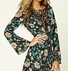 Floral crochet dress new with tags