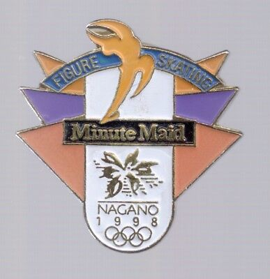 1998 Minute Maid Nagano Olympic Pin Figure Skating for sale  Cartersville