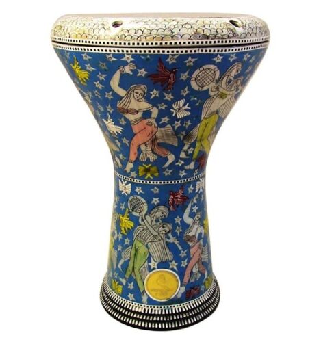 M24 Drum Darbuka tabla doumbek mother of pearl Gawharet El Fan free bag 17 inch