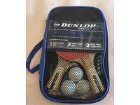 Dunlop ping pong table tennis set BNIB