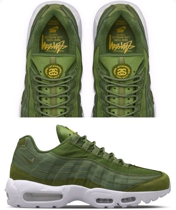 iqwec Stussy x Nike Air Max 95 [Olive Green] | in Sandwell, West