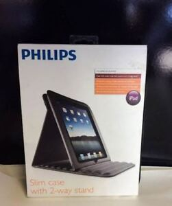 Brand New! Philips Slim Case for iPad with 2 way Stand