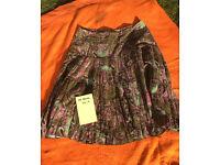 Joe Browns soft cord skirt size 10