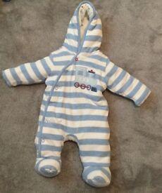 Boots Mini Club Pramsuit Newborn