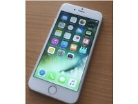 iPhone 6 silver white 64GB unlocked