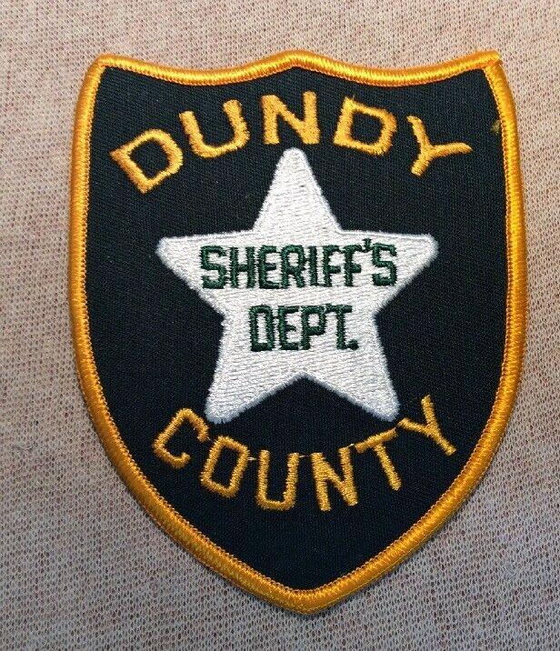 NE Dundy County Nebraska Sheriff Patch