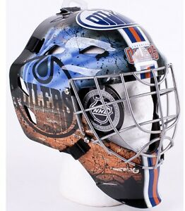 Autographed Grant Fuhr Full Size Mask