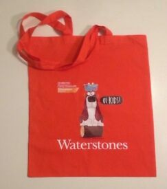 Waterstones Cheltenham Literature Festival Oi Kids cloth/tote bag for sale.