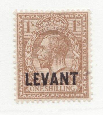 BRITISH LEVANT Scott #53 * MH One Shilling postage stamp