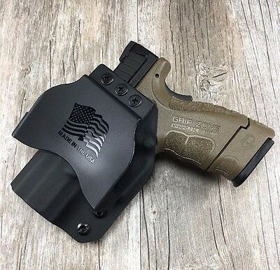 Owb Paddle Holster Springfield Xd Mod 2 Subcompact 9   40 Kydex Retention Sdh