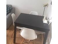 £60 nearly new Ikea BJURSTA extendable dining table.