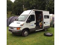 Camper Van Iveco Daily 12 months MOT