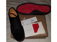 Junior Spike Suede Loubs Low top Louboutin