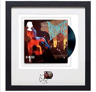 David Bowie Framed Let's Dance Stamp & Print Limited Edition 461/ 950 In Hand!