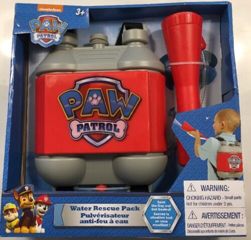 new paw patrol water rescue pack toy