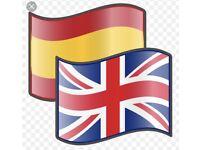 English for Spanish
