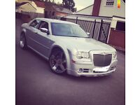 Chauffeur Driven Chrysler 300c aka Baby Bentley - Prom / Wedding / Event hire