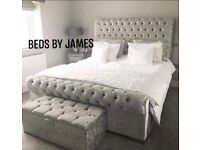 Brand new Sleigh beds available with mattresses