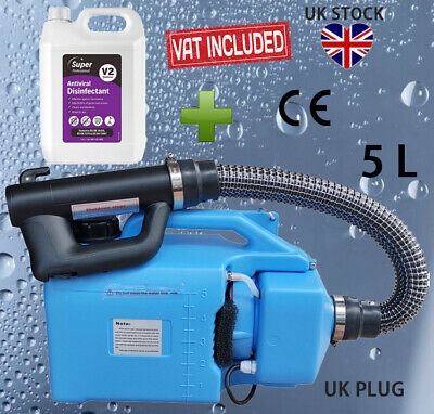 VAT Invoice+5L Electric Fogger Fogging Machine Disinfection Sprayer+5LDisinfecta